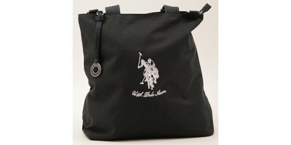 Dámská obdélníková tmavě modrá kabelka U.S. Polo