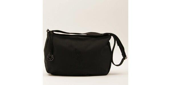 Dámská černá kabelka s popruhem U.S. Polo