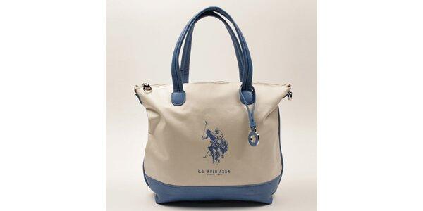Dámská kabelka s modrými uchy U.S. Polo