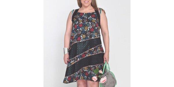 Dámské šaty s barevnými potisky Coquette