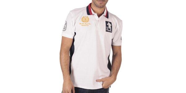Pánské bílé polo triko CLK