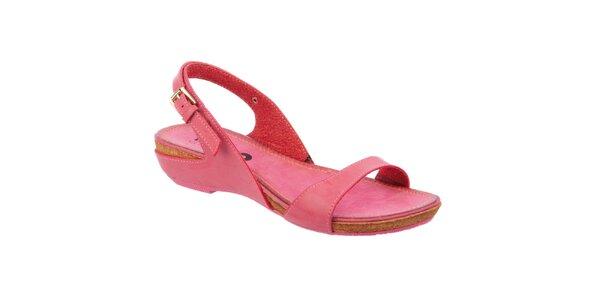 Dámské růžové nízké sandálky Betsy