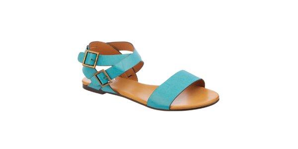 Dámské tyrkysové sandálky Betsy