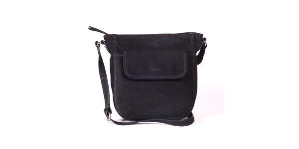 Dámská černá kabelka s nastavitelným popruhem Kate Lee