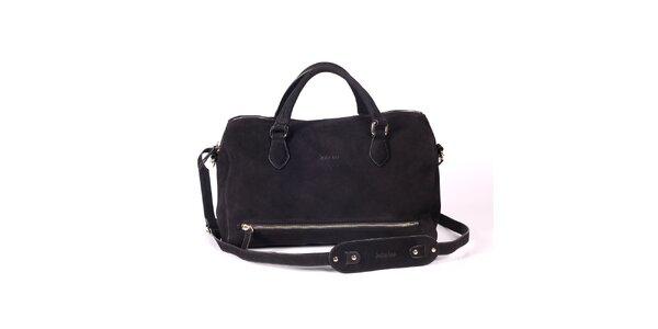 Dámská černá kabelka s popruhem Kate Lee