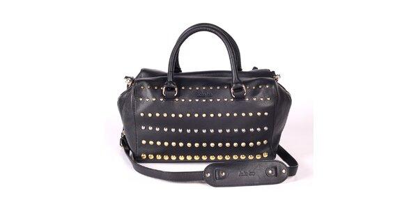 Dámská černá kabelka s ozdobnými cvočky Kate Lee