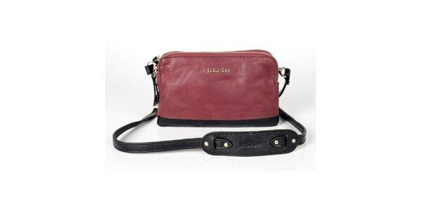 Dámská růžovo-černá kabelka Kate Lee