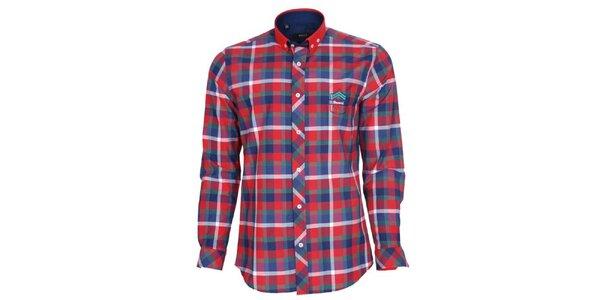 Pánská barevně kostkovaná košile Brazzi