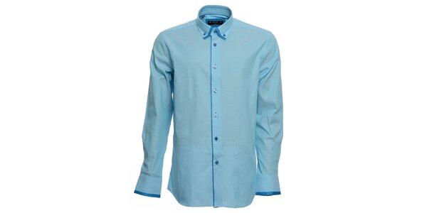 Pánská tyrkysová košile Brazzi