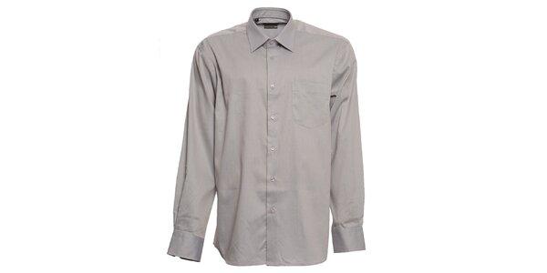 Pánská šedá košile Brazzi