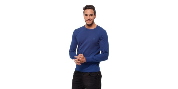 Pánský modrý svetr Bendorff