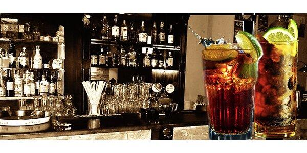 Dvě osvěžující Cuba libre v Cafe bar Al Capone
