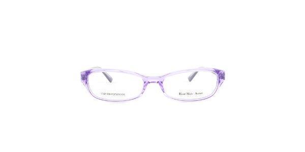 Dámské fialové brýlové obroučky Emporio Armani