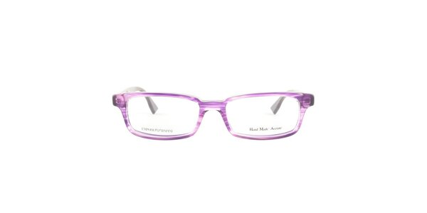 Dámské fialové transparentní obroučky Emporio Armani