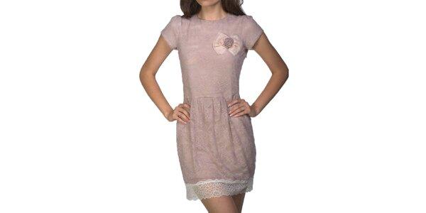 Dámské světle růžové šaty Arefeva