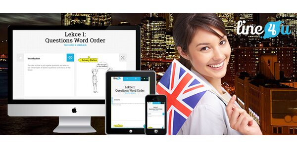 Efektivní on-line kurz angličtiny s certifikátem