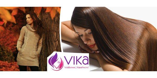 Kadeřnický balíček pro všechny délky vlasů v kadeřnictví Vika.