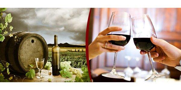 Posezení pro 2 v nové vinárně
