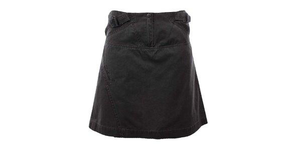 Dámská tmavě šedá bavlněná sukně Hannah