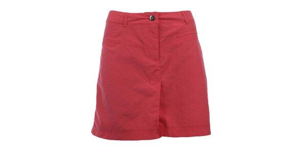 Dámská červenorůžová sportovní sukně Hannah