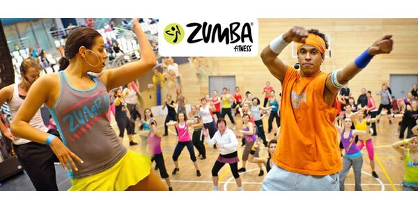 5×60 minut Zumby v taneční škole Dynamic