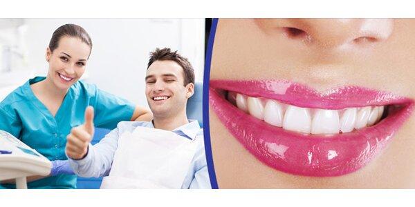 Dentální hygiena včetně pískování od zubního lékaře na klinice Ugorix Dent