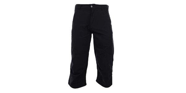 Pánské 3/4 antracitové funkční kalhoty Hannah