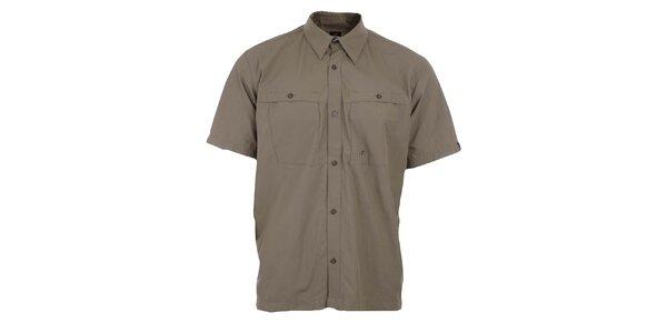Pánská světle hnědá funkční košile Hannah