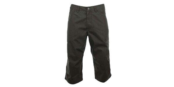 Pánské zelenošedé tříčtvrteční kalhoty Hannah
