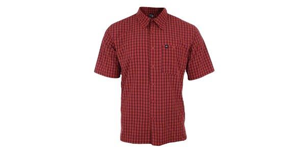 Pánská červeně kostkovaná košile Hannah