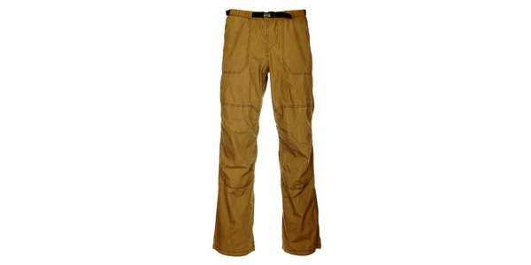 Pánské outdoorové khaki kalhoty Hannah