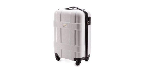 Šedý menší skořepinový kufr Wittchen