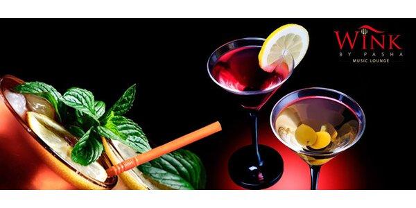 2 míchané drinky dle výběru v novém baru Wink