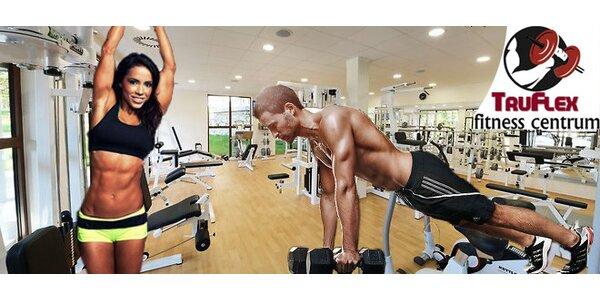 Dostaňte se do formy! Tříměsíční členství v luxusním fitness centru TruFlex…