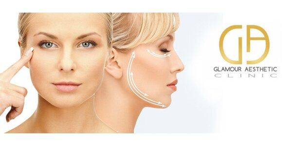 Vyhlazení vrásek botulotoxinem v Glamour Aesthetic Clinic