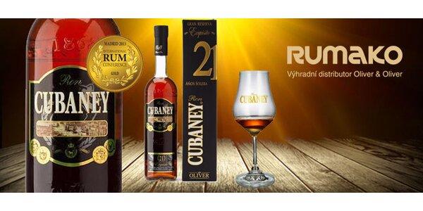 Luxusní rum Cubaney Exquisito 21 Años