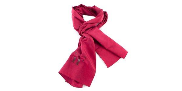 Červený hedvábný šátek Gianfranco Ferré