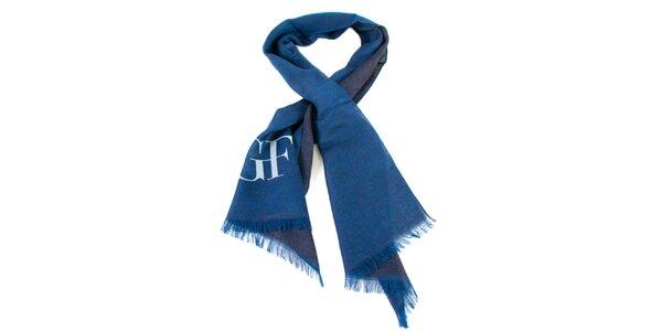 Lehký modrý šátek Gianfranco Ferré