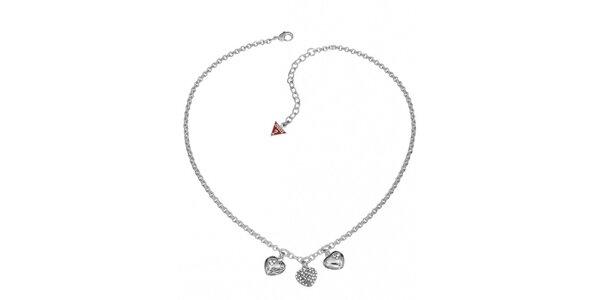 Dámský náhrdelník Guess s přívěsky