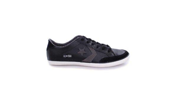 Pánské černé nízké tenisky s hvězdou Converse