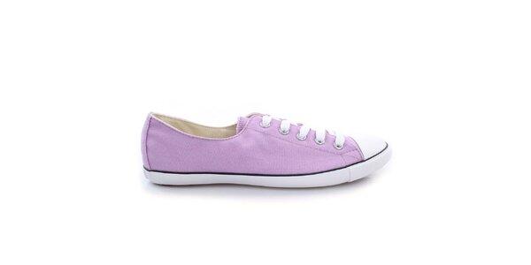 Dámské světle fialové nízké tenisky Converse