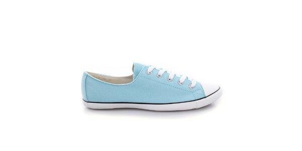 Dámské světle modré nízké tenisky Converse