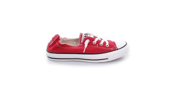 Dámské červené nízké tenisky Converse