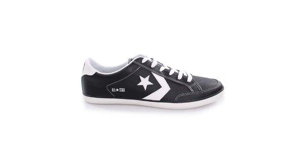 Pánské černo-bílé nízké boty Converse