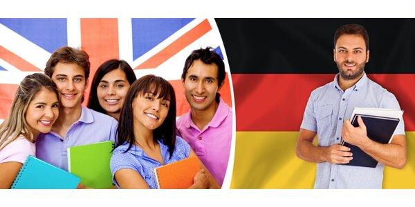 Netradiční letní intenzivní kurz anglického nebo německého jazyka