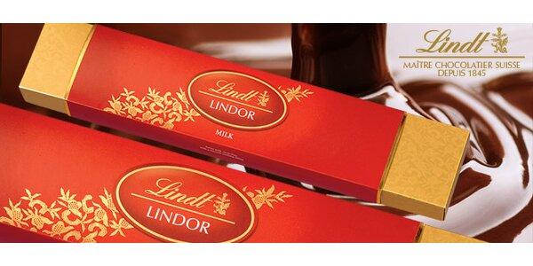 18 delikátních čokoládových pralinek Lindt