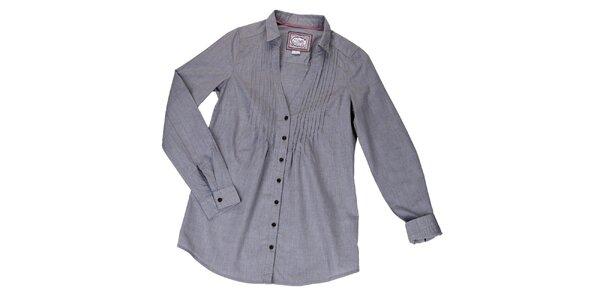 Dámská volná šedá košile Urban Surface
