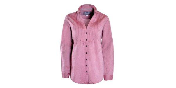 Dámská volná růžová košile Urban Surface