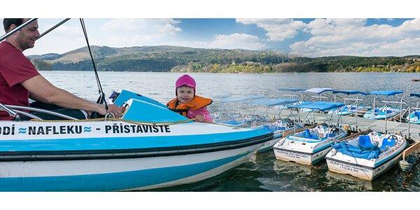 33% sleva na elektro lodičky na brněnské přehradě