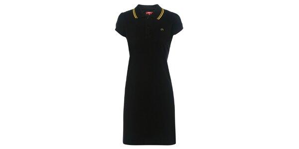 Dámské černé polo šaty Merc